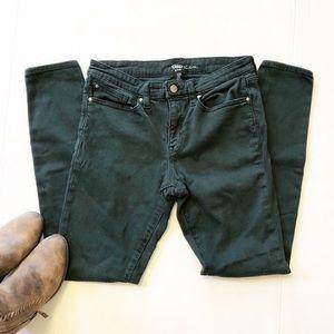 Gap - Dark Green Legging Jeans - Size 6/28